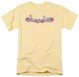 Tropical Floral Band T-shirts