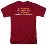 Capitalism Communism T-Shirt