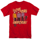 Star Trek-Man In Uniform T-Shirt
