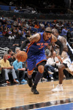 New York Knicks v Orlando Magic, Orlando, FL - March 1: Carmelo Anthony and Jason Richardson Photographic Print by Fernando Medina