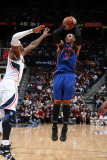 New York Knicks v Atlanta Hawks, Atlanta - March 6: Carmelo Anthony and Josh Smith Photographic Print by Scott Cunningham