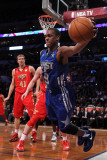 2011 NBA All Star Game, Los Angeles, CA - February 20: Rajon Rondo Photographie par Jeff Gross
