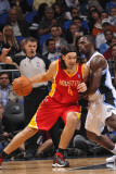 Houston Rockets v Orlando Magic, Orlando, FL - January 7: Luis Scola and Brandon Bass Photographic Print by Fernando Medina