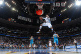 New Orleans Hornets v Denver Nuggets, Denver - January 9: J.R. Smith Photographic Print by Garrett Ellwood