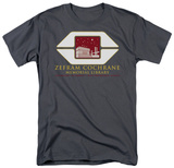 Star Trek-Cochrane Library T-shirts