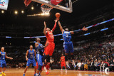 2011 NBA All Star Game, Los Angeles, CA - February 20: Carmelo Anthony and Dwyane Wade Photographic Print by Noah Graham