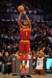 Foot Locker Three-Point Contest, Los Angeles, CA - February 19: Daniel Gibson Photographic Print by Garrett Ellwood
