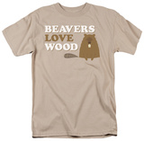 Beavers Love Wood Shirt