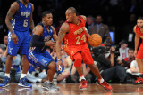 2011 NBA All Star Game, Los Angeles, CA - February 20: Kobe Bryant and Joe Johnson Photographic Print by Noah Graham