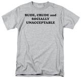 Socially Unacceptable Shirt