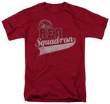 Star Trek-Red Squadron Sport T-shirts