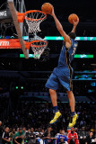 Sprite Slam Dunk Contest, Los Angeles, CA - February 19: JaVale McGee Photographie par Kevork Djansezian
