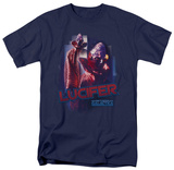 Battle Star Galactica-Lucifer T-Shirts