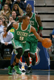Boston Celtics v Utah Jazz, Salt Lake City, UT - February 28: Rajon Rondo Photographic Print by Melissa Majchrzak