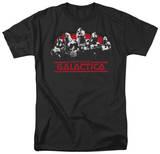 Battle Star Galactica-Old School Cylons T-Shirts