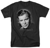 Star Trek-Captain Kirk Portrait Tshirts