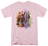 Will & Grace-Will & Grace Cast T-shirts