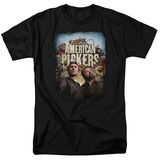 American Pickers-Distressed Poster T-Shirt