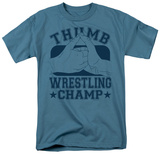 Thumb Wrestling Champ Shirts