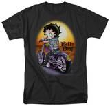 Betty Boop-Wild Biker Shirt