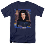 Star Trek-Deanna Troi T-shirts
