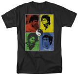 Bruce Lee-Enter Color Block T-shirts