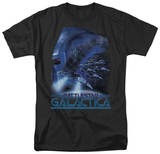 Battle Star Galactica-Cylon Attack T-Shirt