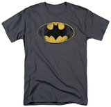 Batman-Destroyed Logo Camisetas