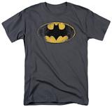 Batman-Destroyed Logo T-Shirt