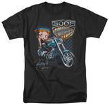 Betty Boop-Choppers T-Shirt