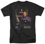 Star Trek-Captain Sisko T-shirts