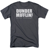 The Office-Dunder Mifflin Logo Shirts