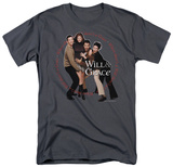 Will &amp; Grace-Where Theres A Will T-Shirt
