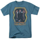 Battle Star Galactica-Colonial Heroes T-shirts