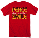 Peace With A Smile T-shirts