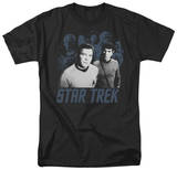 Star Trek-Kirk Spock And Company T-shirts