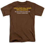 Never Replace Books T-Shirt