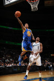 Golden State Warriors v Washington Wizards, Washington, DC - March 2: Monta Ellis and Nick Young Photographic Print by Ned Dishman