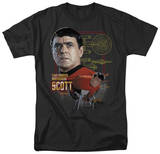 Star Trek-Chief Engineer Scott T-shirts