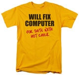 Will Fix Computer T-Shirt