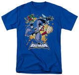 Batman BB-Burst Into Action Shirts