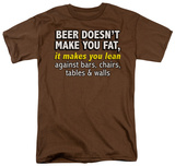 Beer Makes You Lean T-shirts
