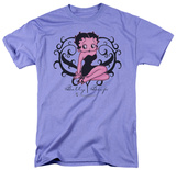 Betty Boop - Scroll Heart T-shirts