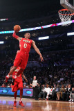 2011 NBA All Star Game, Los Angeles, CA - February 20: Russell Westbrook Photographic Print by Jeff Gross