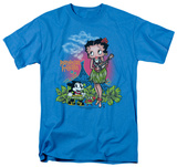 Betty Boop - Polynesian Princess Shirts