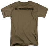 Only The Paranoid T-shirts