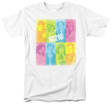 90210-Color Block Of Friends T-Shirts