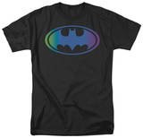 Batman-Gradient Bat Logo Shirts
