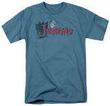 Archie Comics-Distressed Jughead Logo T-Shirt
