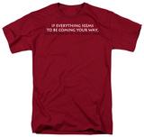 Wrong Lane T-shirts
